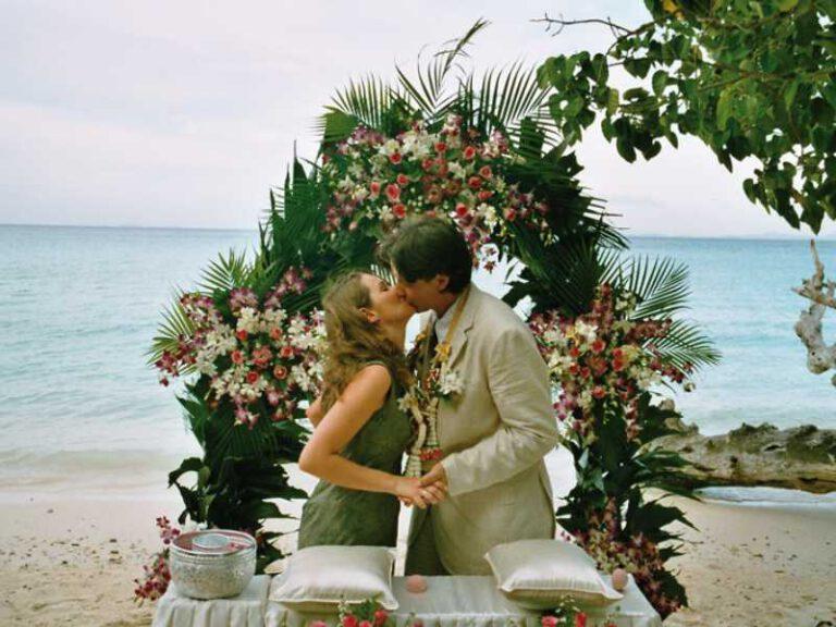 Hochzeit auf Phi Phi Island 2004