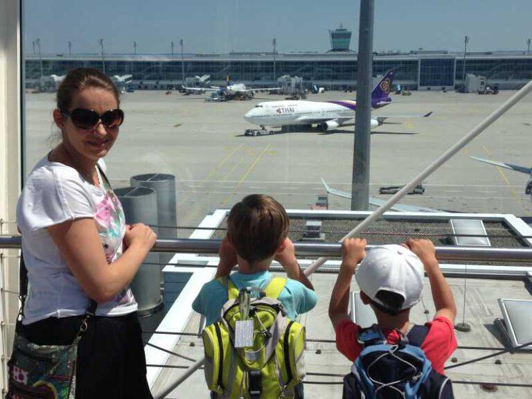 Mit Thai Airways nach Bangkok 2015