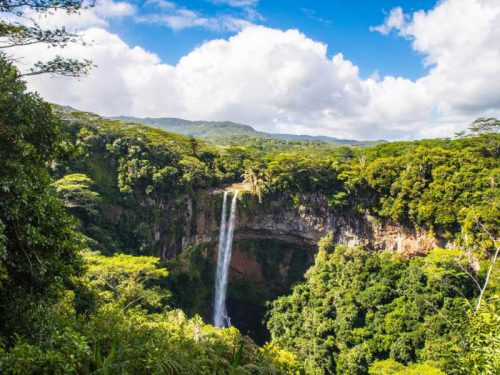 800 - Mauritius - beautiful-scenery-of-chamarel-waterfall-in-mauritius-under-a-cloudy-sky