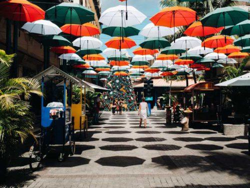 800 - Mauritius - port-louis-mauritius-covered-with-umbrellas-walk-along-the-promenade-leodan-in-the-capital