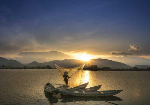 800 - Mekong - sunset-3051607_1920